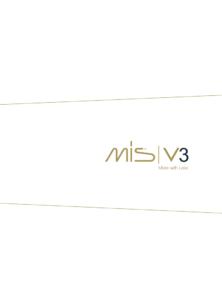 MIS V3 katalog
